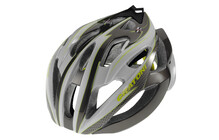 Cratoni C-Bolt Casque anthracite-blanc-citron brillant
